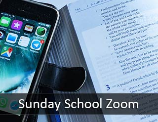 Sunday School Zoom